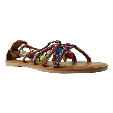 Brown Espadrille - Top Line Womens  Brown Espadrille Sandals Size 7.5 New