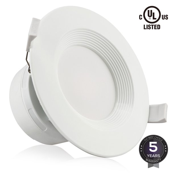 Torchstar 4 Inch 7w Led Recessed Ceiling Light With Junction Box