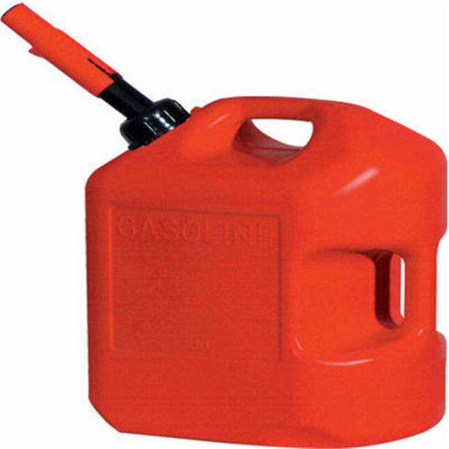 Midwest Can 6600 6Gal. Red Plastic Gas Can