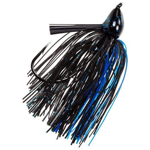 Strike King Lures Denny Brauer Structure Jig 5/0 Hook, 3/4 oz, Blue Craw, Per 1