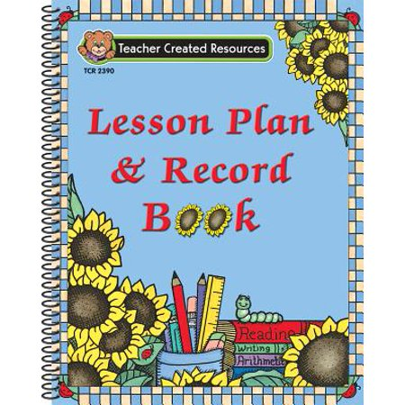 Sunflowers Lesson Plan & Record Book](Christmas Lesson Plans For Middle School)
