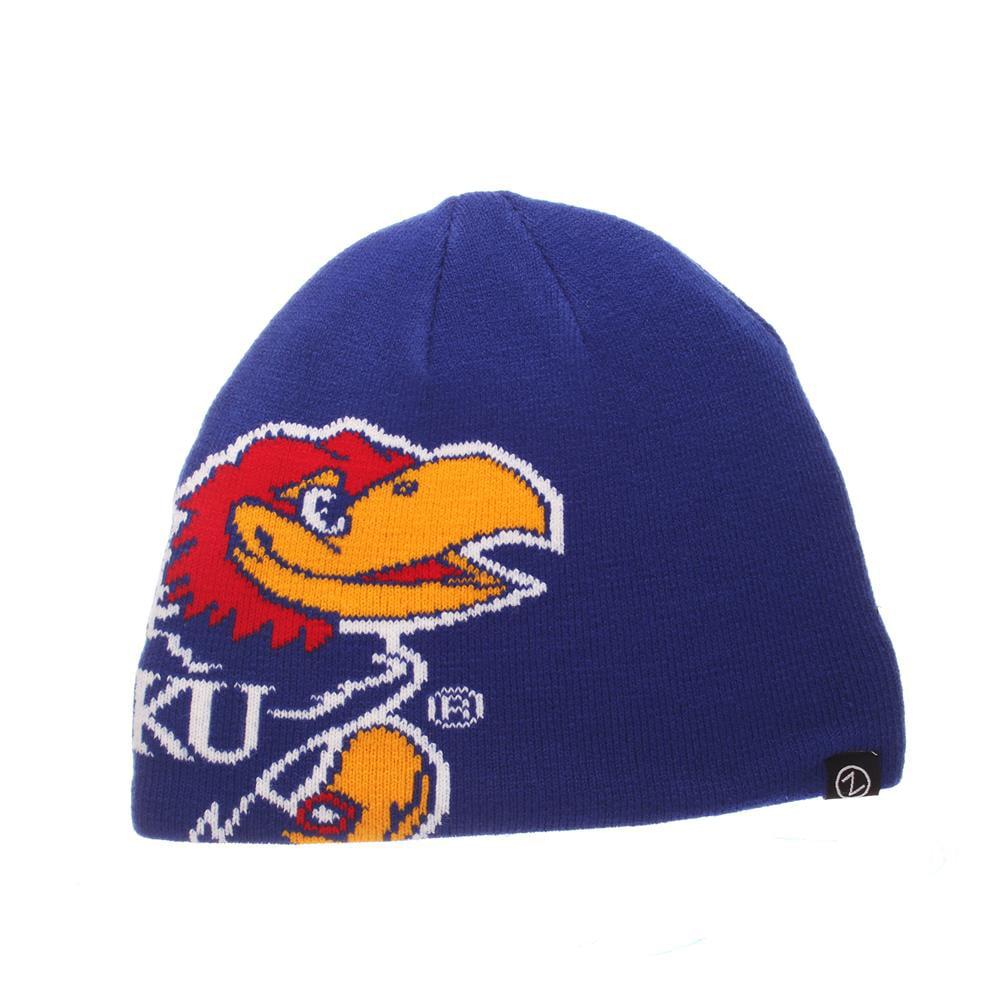 Zephyr Kansas Jayhawks KU Youth Beanie Hat