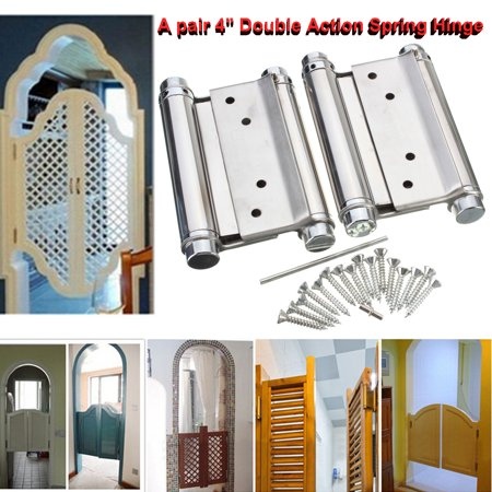 Double Acting Spring Hinge - A pair 4