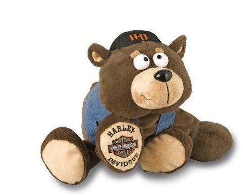 Kids Preferred Harley Davidson Cruisin Critters Set of 3 Bear Wolf Dog by