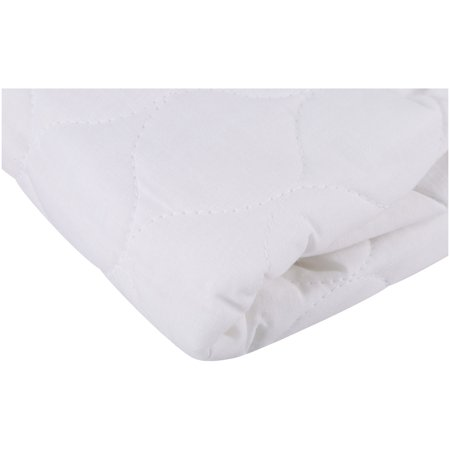 TL Care Fitted Waterproof Quilted Mattress Pad Cover, White (Totter Water)