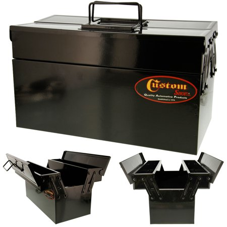 Custom Shop's Metal Folding Storage Box for Auto Body Tool Storage (Custom Stores)