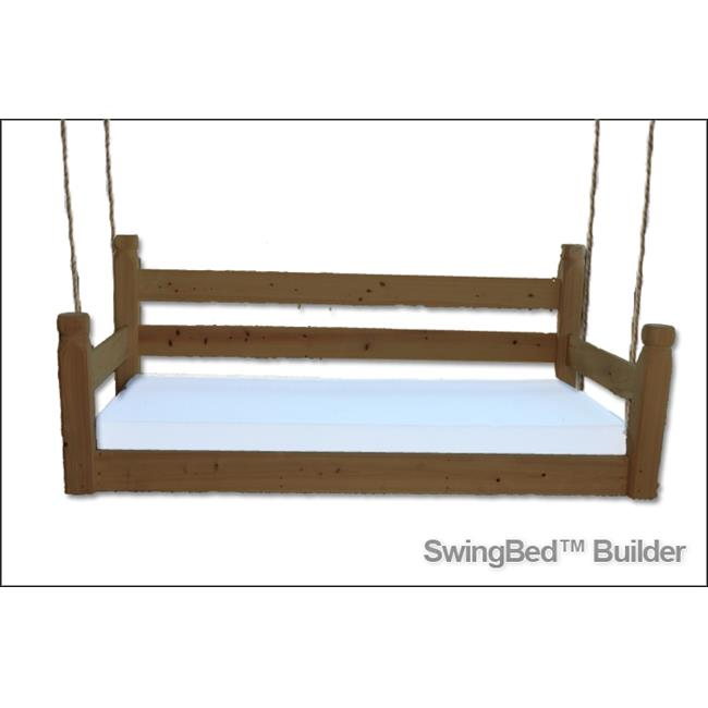 Swing Beds ORG-CRB-STN-DARK Original Crib Bed, Dark Stain
