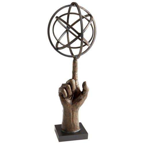 Cyan Design I Got This Sculpture I Got This 17.5 Inch High Iron Sculpture by Cyan Design