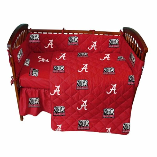 College Covers ALACSFSW Alabama Baby Crib Fitted Sheet- White