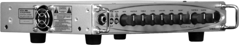 Gallien-Krueger MB500 500W Ultra Light Bass Amp Head by Gallien-Krueger