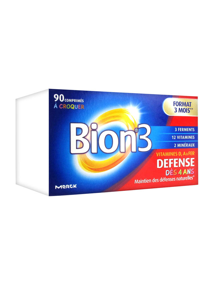 Bion 3 Defense Junior 90 Tablets To Crunch Walmart Com Walmart Com
