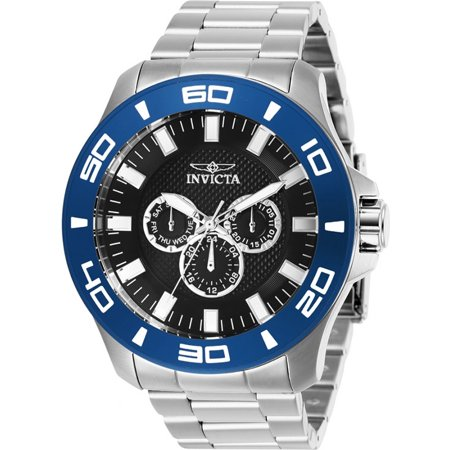 Invicta Men's Pro Diver Quartz Chrono 100m Stainless Steel Watch