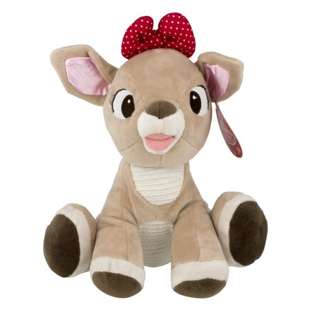 Rudolph Red-Nosed Reindeer Clarice Plush 0+, 1.0 CT