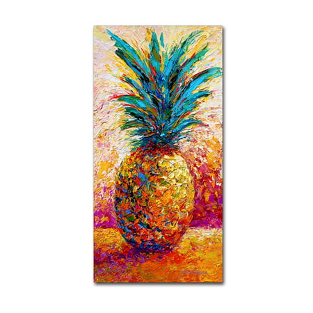 Trademark Fine Art 'Pineapple Expression' Canvas Art by Marion - Pineapple Rose