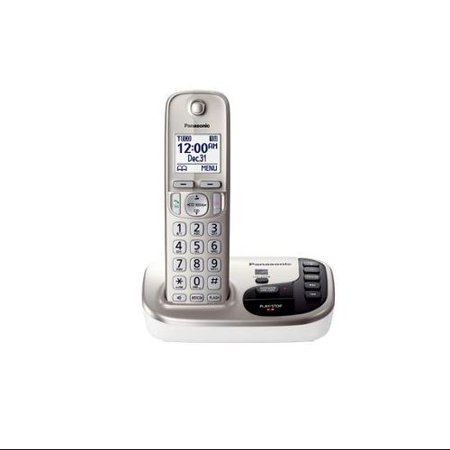 Panasonic Kx-tgd220n Dect 6.0 Cordless Phone Cordless 1 X Phone Line Speaker Phone Answering Machine Caller Id... by