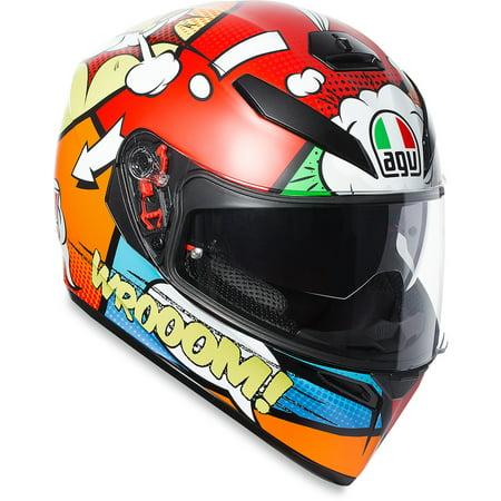 AGV K3 SV Helmet Full Face (Balloon , - Balloon Football Helmet