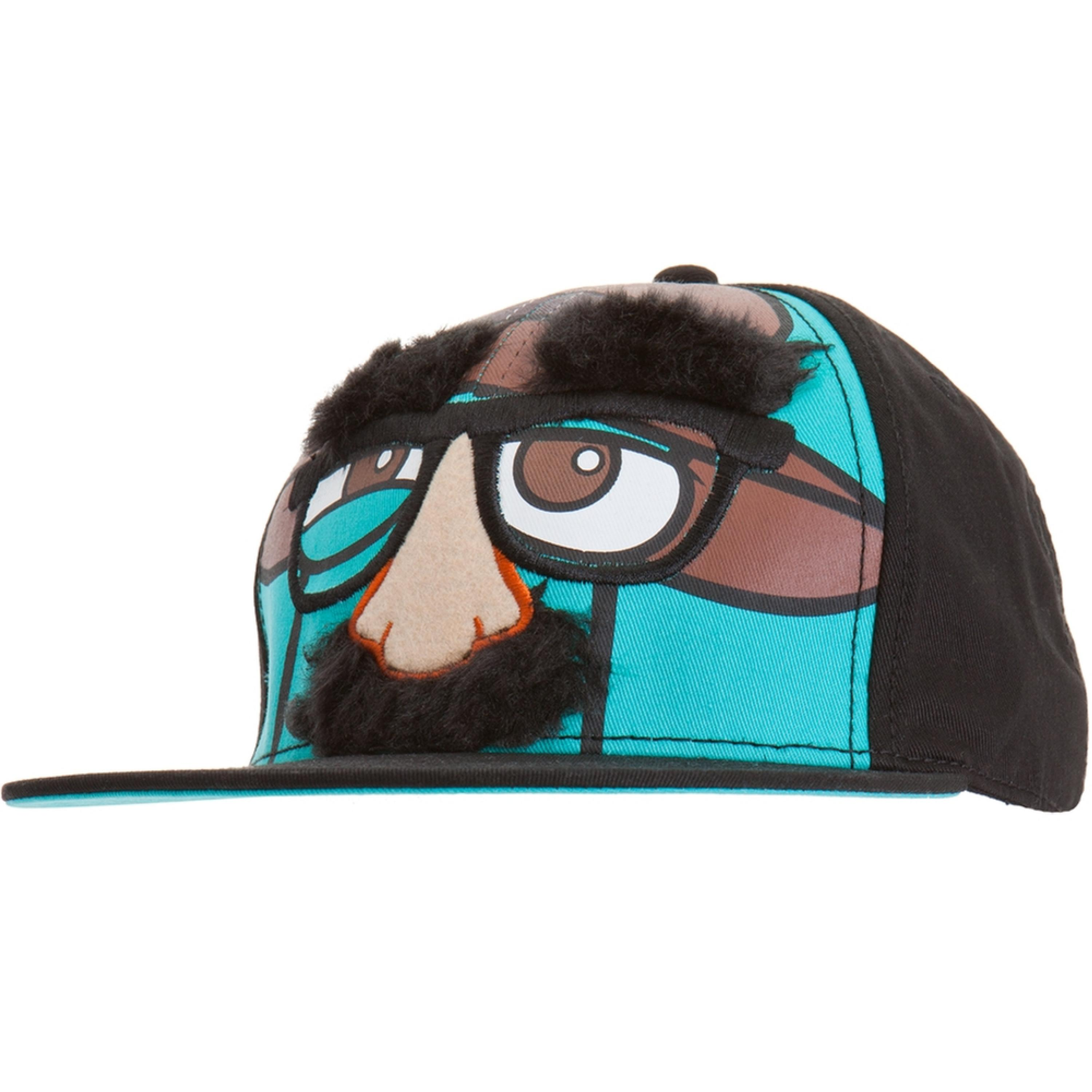 Phineas And Ferb - Groucho Agent P Adjustable Cap