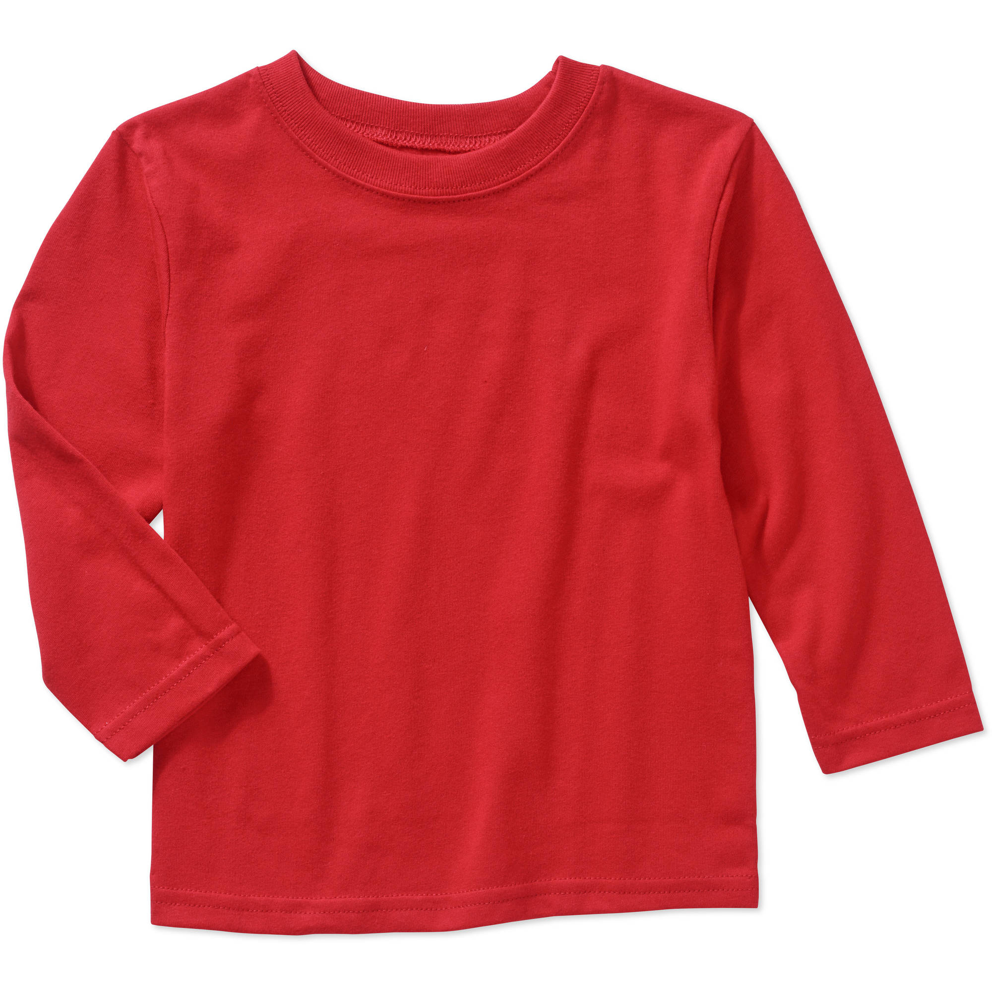Garanimals Baby Toddler Boys' Long Sleeve Solid Tee Shirt