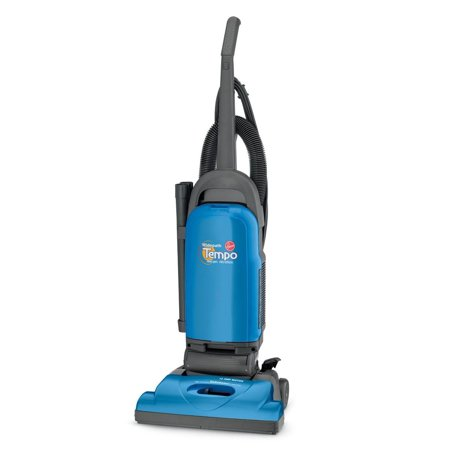 Hoover Steam Edge Cleaning Vacuums - Hoover Tempo Widepath Bagged Upright Vacuum, U5140900