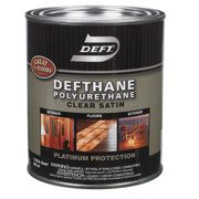 Deft Defthane Satin Clear Polyurethane 1 qt. - Case Of: 4