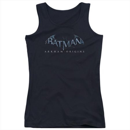 Batman Arkham Origins-Logo - Juniors Tank Top, Black - Small - image 1 of 1