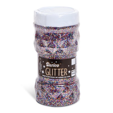 Darice Glitter Jar - Multicolor - 8 oz