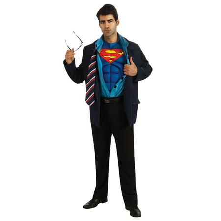Clark Halloween Costume (Adult Superman Clark Kent)