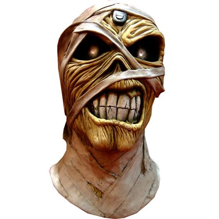 Iron Maiden Eddie Powerslave Latex Costume Overhead Mask