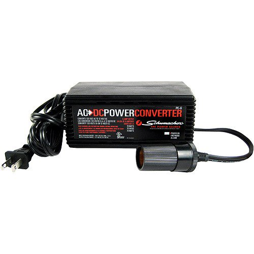 12 Volt Converter >> Schumacher Pc 6 120ac To 6a 12v Dc Power Converter