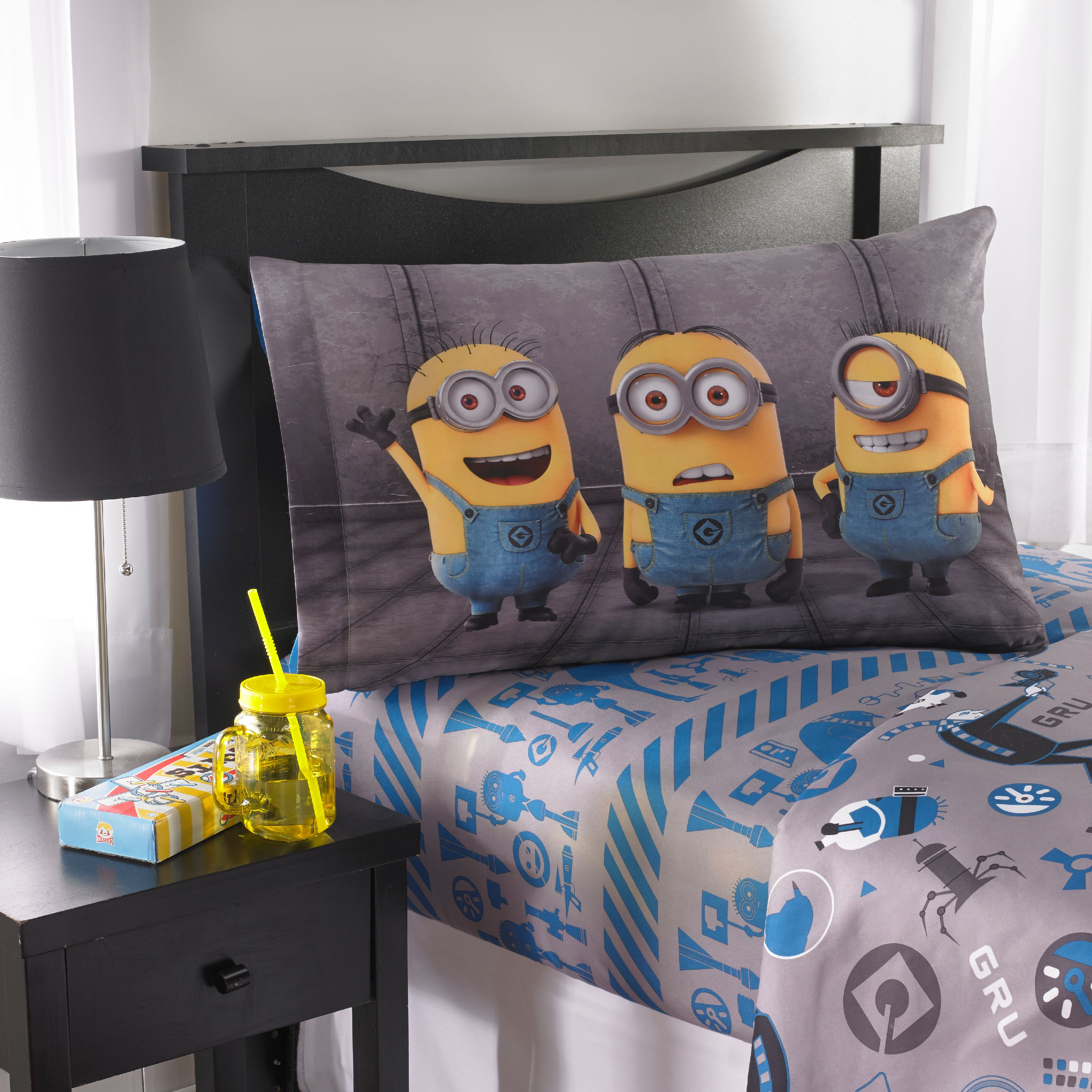Despicable Me Minions Follow Mel Kids Bedding Sheet Set, 1 Each