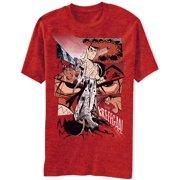 samurai jack cartoon network action sword kreeegaa! adult red t-shirt tee