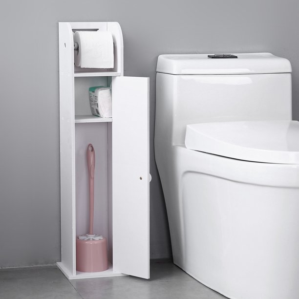 narrow cabinet for pvc toilet paper towel with paper roll