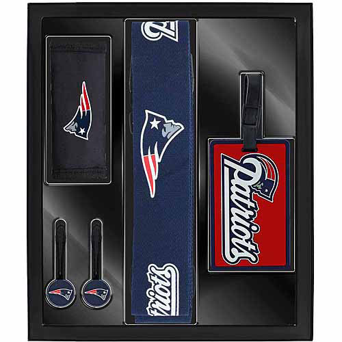 Aminco Sports 5-Piece Travel Box Set, Patriots