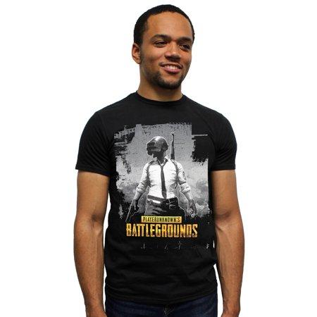 Playerunknown's Battlegrounds PUBG Shirt Welder Man Men's T-Shirt ()