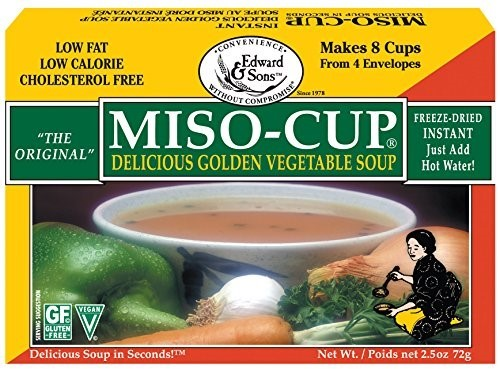 Edward & Sons Miso-Cup Delicious Golden Vegetable Soup 4 CT by Edward & Sons