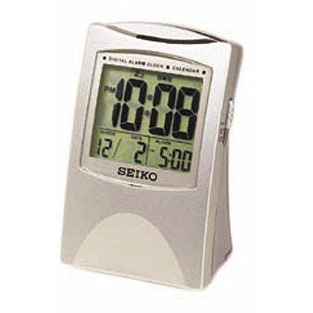Seiko Silver Get Up; Glow Alarm Clock