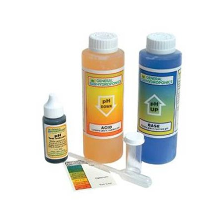 - Microgreens pH Control Kit by General Hydroponics: pH Test Kit, pH UP, pH DOWN - Microgreens Supply