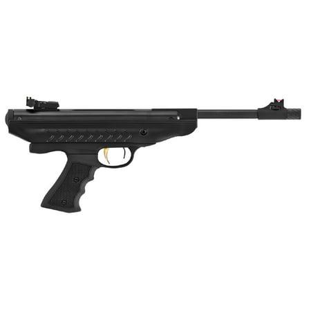 Hatsan Model 25 SuperCharger Break Barrel Airgun Pistol .177 Black XRS Recoil Reduction