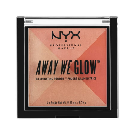 NYX Professional Makeup Away We Glow Illuminating Powder, Summer Reflection