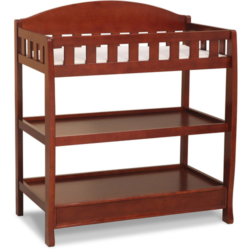 Delta Children's Changing Table with Pad, Choose Your Finish