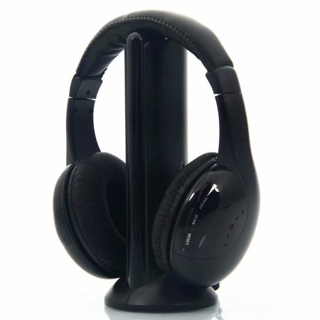 Clearance! 5 in 1 Wireless Headphones for MP3 PC TV