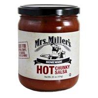 Mrs. Miller's Hot Chunky Salsa 16 oz. (2 Jars)