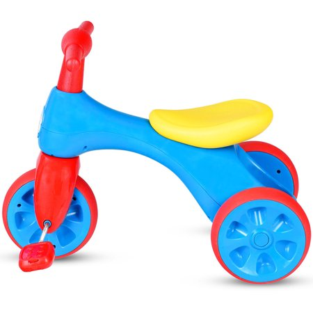 Costway 2 in 1 Toddler Tricycle Balance Bike Scooter Kids Riding Toys w/ Sound & Storage - image 5 of 10