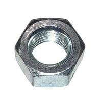 Metallics JN163 Zinc Plated Steel Hex Nut 1/4-20 UNC