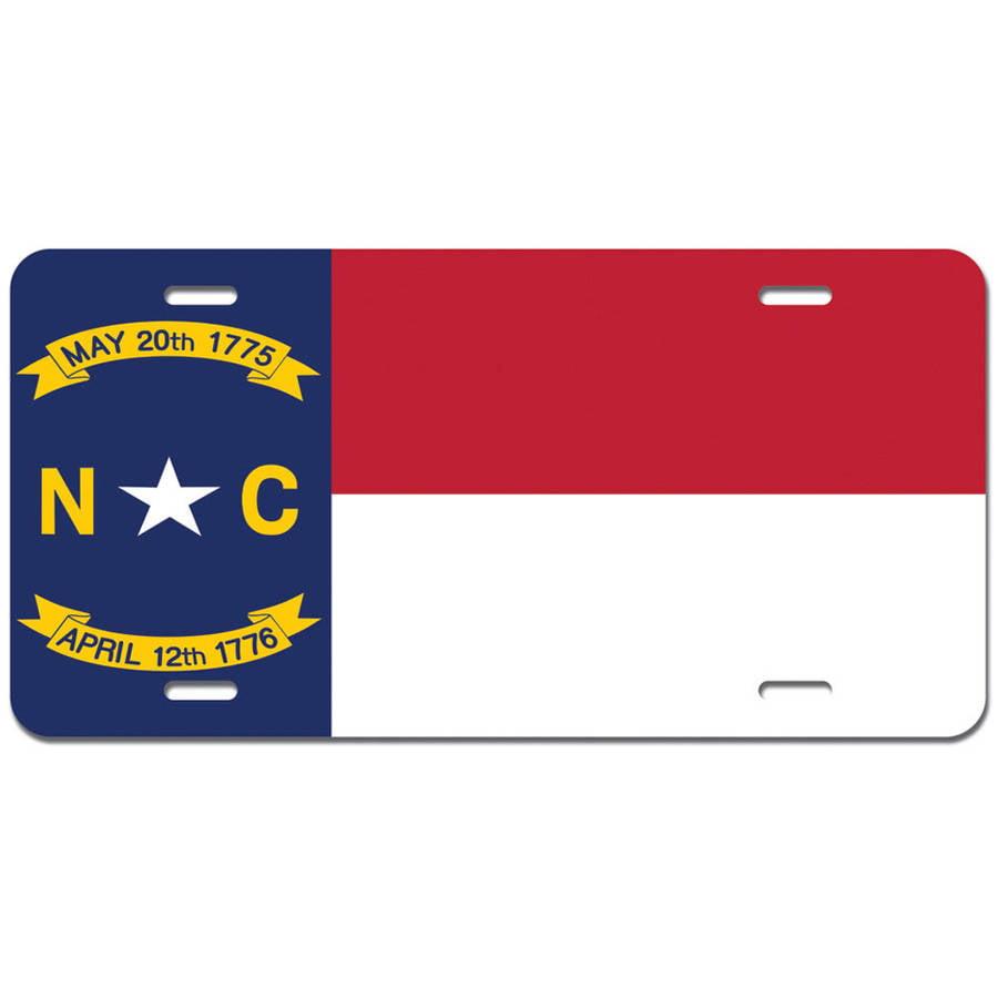 South Carolina State Flag Novelty Metal Vanity License Tag Plate