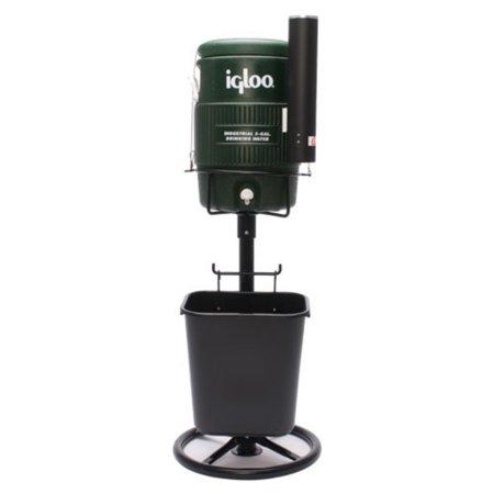 Tidi-Cooler Stand/Basket, Black