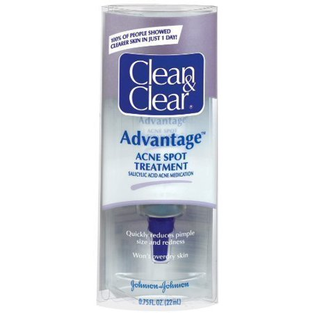 Cln&Clr Adv Spt Trtmnt Size .75z Clean & Clear Advantage Acne Spot (Best Over The Counter Acne Products)