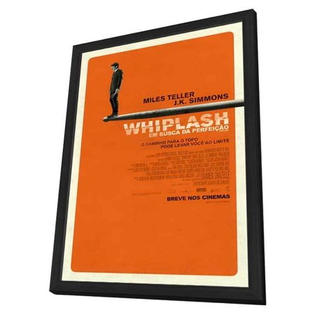 Whiplash  2014  27X40 Framed Movie Poster  Brazilian