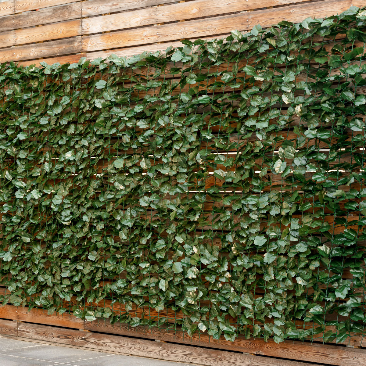 Goplus 59''x118'' Faux Ivy Leaf Decorative Privacy Fence Screen Artificial Hedge Fencing