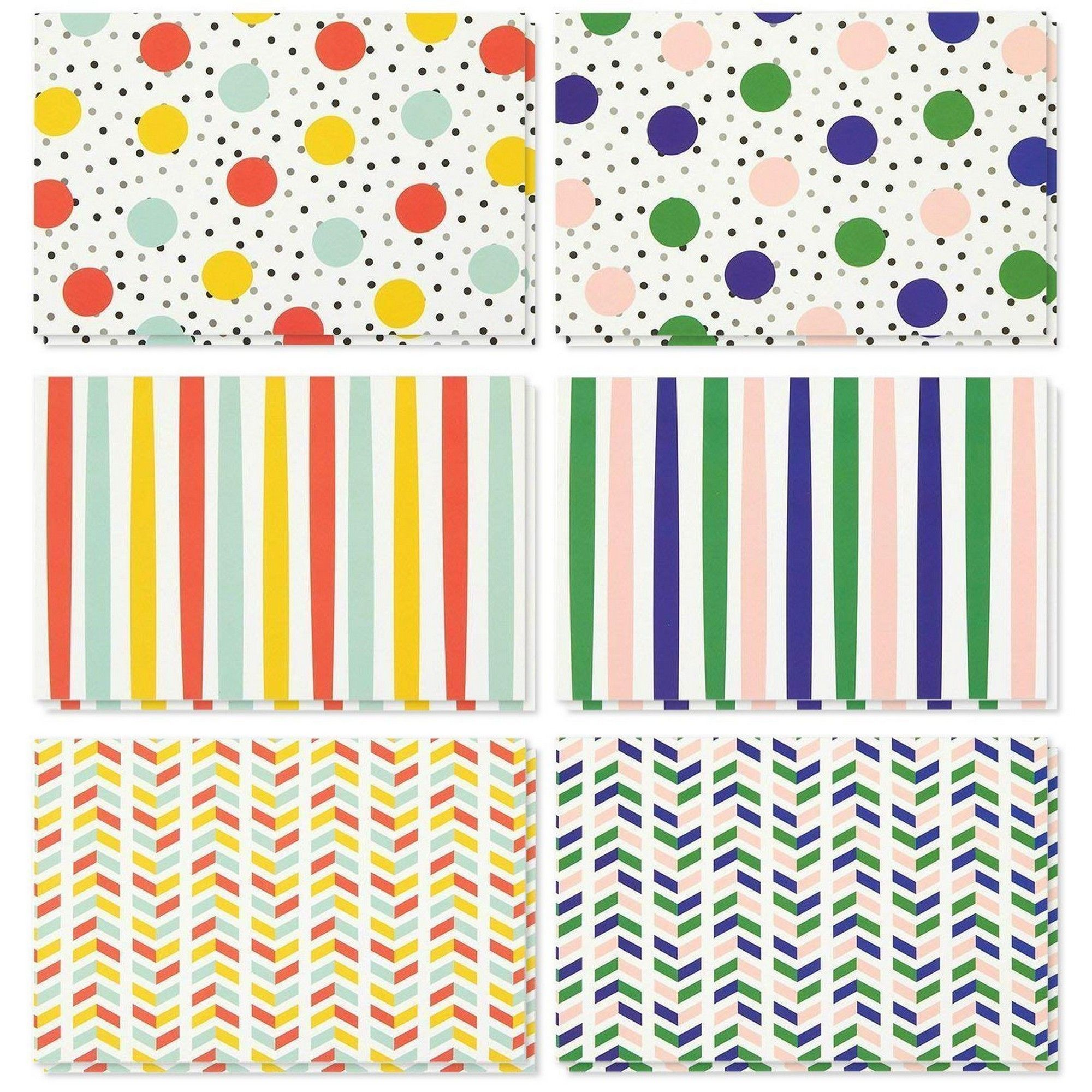 36 pack all occasion assorted blank note cards greeting